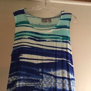 Chico's Sleeveless Maxi Dress